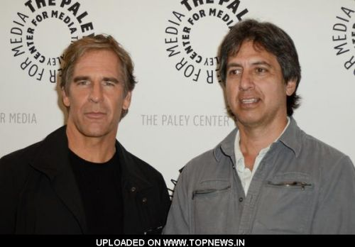 "Ray Ramano and Scott Bakula at The Paley Center for Media Presents An Evening with ""Men of a Certain Age"" - Arrivals"