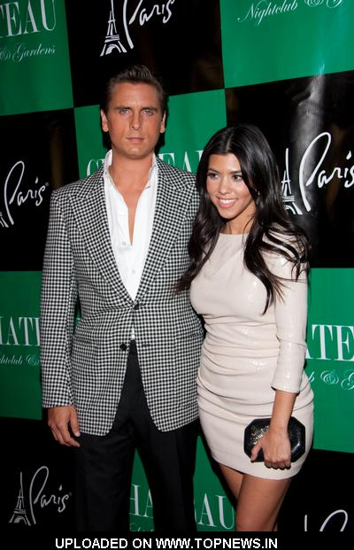 Kourtney Kardashian at Scott Disick Hosts Night at Gallery Nightclub in Las Vegas