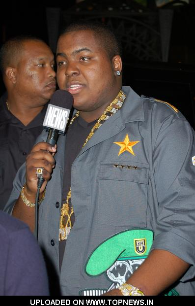 Sean Kingston Departing My House Club in Hollywood on June 28, 2009