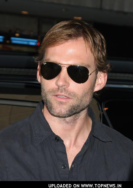 Seann William Scott at Celebrity Arrivals at MTV's TRL on June 3, 2008