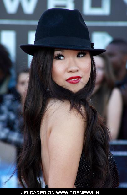 Selina Lo at Cowboys  Aliens UK...