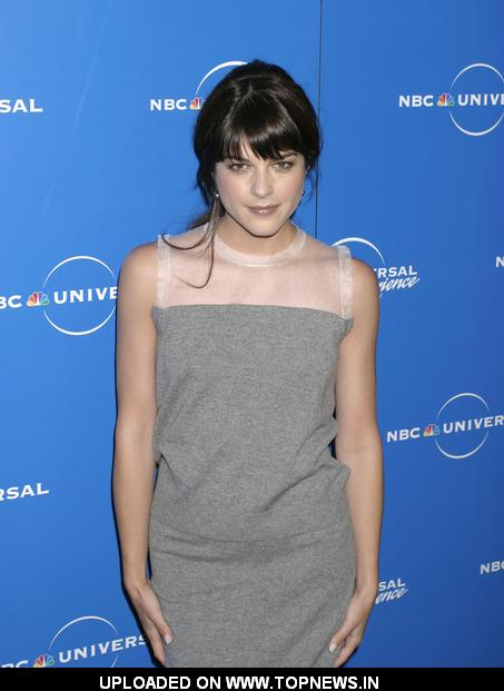 Selma Blair at The 2008 NBC Universal Experience Upfronts - Arrivals