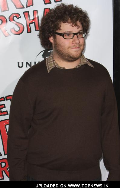 "Seth Rogen at ""Forgetting Sarah Marshall"" World Premiere - Arrivals"