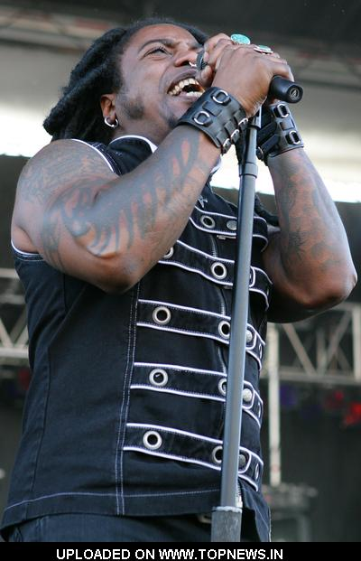 Sevendust at Rock on the Range 2008 - Day 2