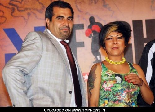 Shailendra Singh and Hard Kaur Launch of Fight Night- Lagaan Cup