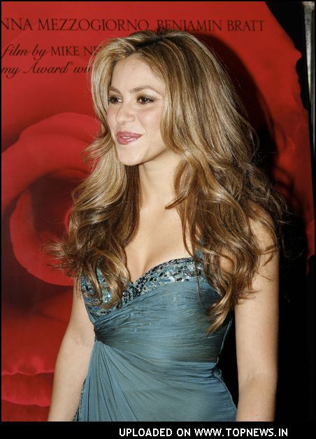 Shakira Beautiful Actress