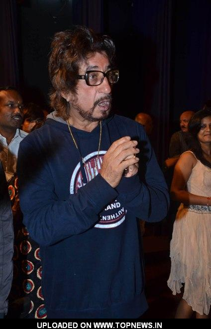 Shakti Kapoor at Anup Jalota's 'Satya Sai Baba' Movie Muhurat