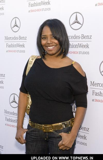 Shar Jackson at Mercedes-Benz Fall 2008 Fashion Week