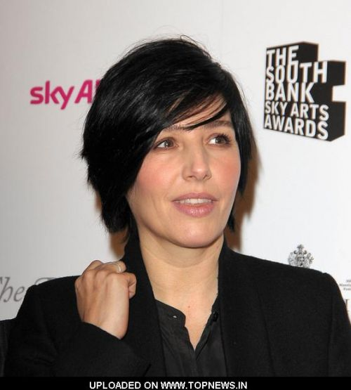Sharleen Spiteri at South Bank Sky Arts Awards 2011 - Inside Arrivals