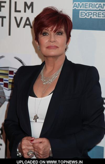 "Sharon Osbourne at 10th Annual Tribeca Film Festival - ""God Bless Ozzy Osbourne"" Premiere - Arrivals"