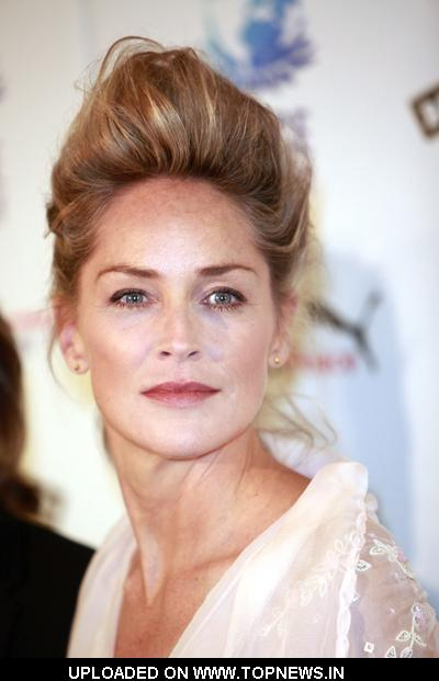 Sharon Stone at Peace One Day 2010 Concert Paris Photocall