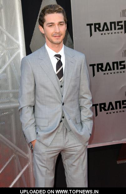 shia labeouf transformers 3. Shia LaBeouf at 2009 Los