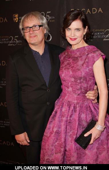 Simon Curtis and Elizabeth McGovern at  18th Annual BAFTA Los Angeles Award Season Tea Party - Arrivals