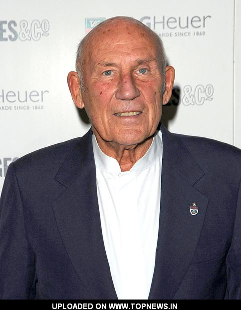 Sir Stirling Moss at 150th Anniversary of Tag Heuer