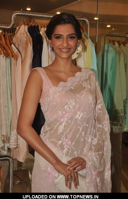 Sonam Kapoor at Shehla store launch