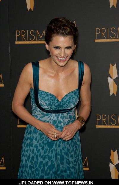 Stana Katic  at 2009 PRISM Awards - Arrivals