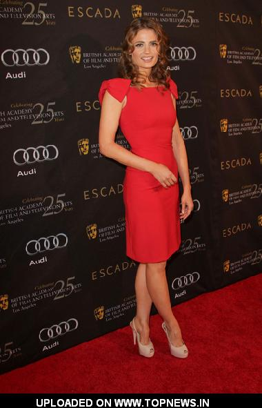 Stana Katic at 18th Annual BAFTA Los Angeles Award Season Tea Party - Arrivals