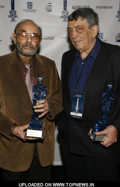 Stanley Donen and Micha Shagrir at 25th Annual Israel Film Festival - Opening Night and Awards Ceremony