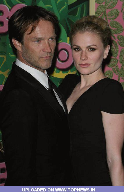 Stephen Moyer and Anna Paquin HBO's 62nd Annual Primetime Emmy Awards After Party - Arrivals