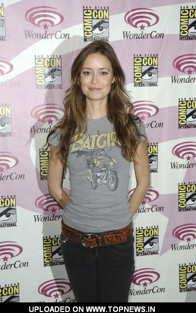 Summer Glau at WonderCon - Day 3