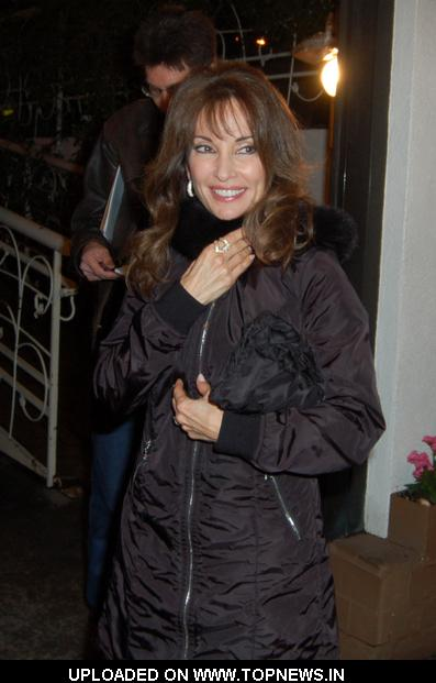 Susan Lucci at Madeo Restaurant in West Hollywood on January 21, 2010