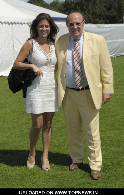 Susan Nilsson And Andrew Neil At Cartier International
