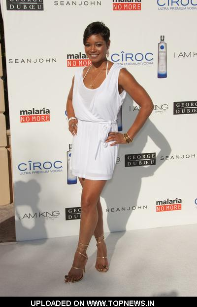 "Tamala Jones  at Sean ""Diddy"" Combs, Ashton Kutcher and Malaria No More Host the Annual White Party"