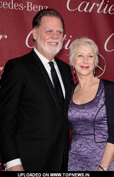 Taylor Hackford and Helen Mirren at 2011 Palm Springs International Film Festival Awards Gala - Arrivals