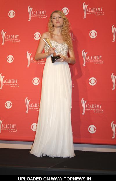 Taylor Swift at 43rd Academy Of Country Music Awards - Press Room