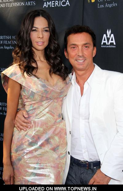 Terri Seymour and Bruno Tonioli at 9th Annual BAFTA Los Angeles Tea Party - Arrivals