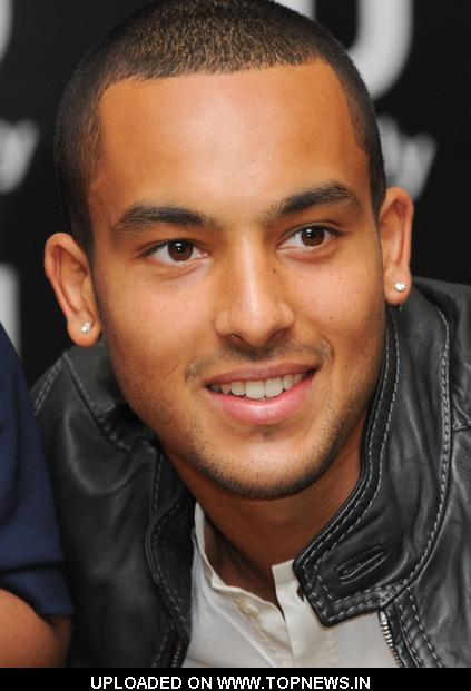 Theo Walcott Book Signing at Waterstones Piccadilly in London