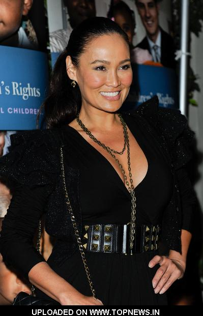 "Tia Carrere at 3rd Annual Alliance for Children's Rights ""Dinner With Friends"" - Arrivals"