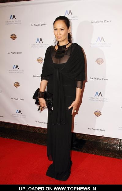 Tia Carrere at 1st Annual Museum of Tolerance International Film Festival Awards Presentation Gala - Arrivals