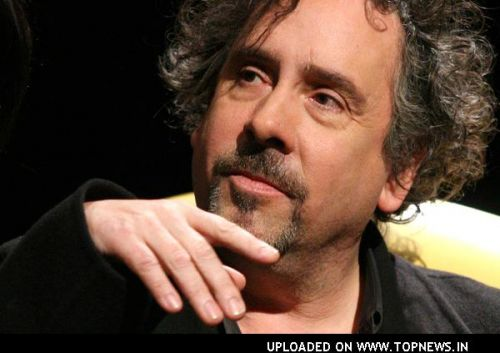 Tim Burton Speaks to Fans at the Auditorium Parco della Musica in Rome, Italy on January 23, 2008