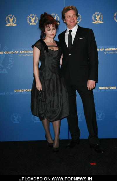 Tom Hooper and Helena Bonham Carter at 63rd Annual DGA Awards - Press Room