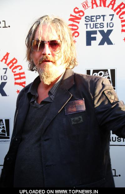 "Tommy Flanagan at ""Sons of Anarchy"" Season 3 Hollywood Premiere - Arrivals"