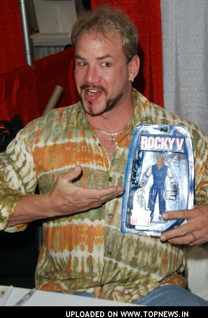 Tommy Morrison at Wizard World Los Angeles Day One