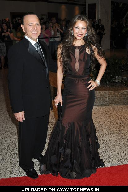 Tommy Mottola, Thalia at 2009 White House Correspondent ...