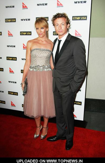 Simon Baker and Toni Collette at G'Day USA Australia Week 2010 Black Tie Gala - Arrivals