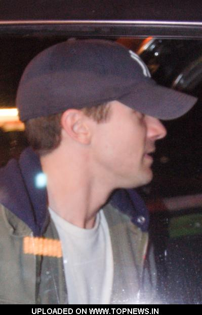 Topher Grace at Celebrity Sightings at Voyeur Nightclub in West Hollywood on May 6, 2010