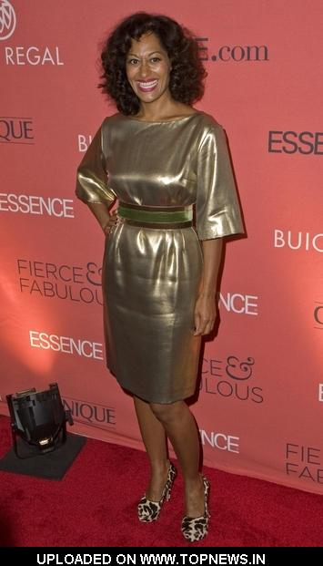 Tracee Ellis Ross at Essence Magazine's 40th Anniversary Fierce and Fabulous Awards Luncheon - Arrivals