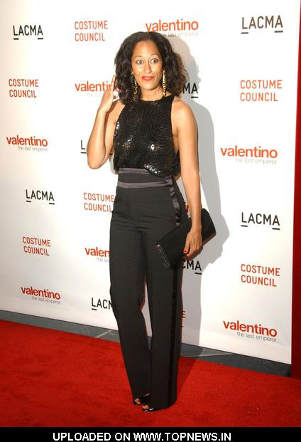 "Tracee Ellis Ross at LACMA Presents The West Coast Premiere Of ""Valentino: The Last Emperor"""