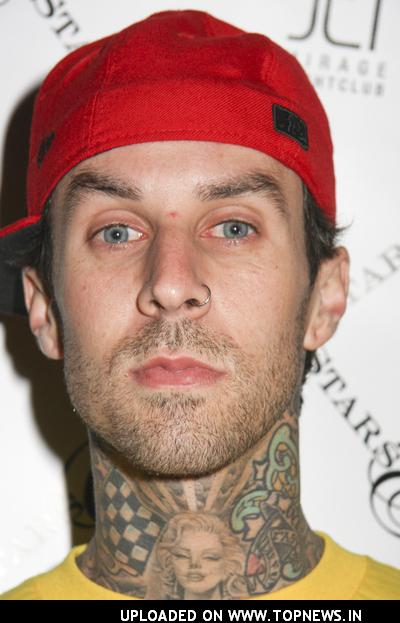 Travis Barker at Famous Stars and Straps Magic Party with Special Appearance by Three 6 Mafia at Jet Nightclub -February 13,2008