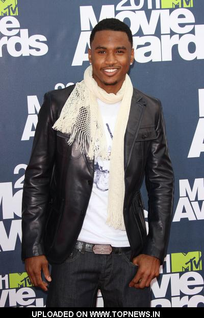 trey songz 2011 mtv movie awards. Trey Songz at 2011 MTV Movie