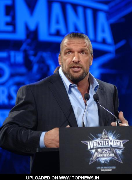 wrestlemania 25 wallpaper. Triple H at WrestleMania 25th