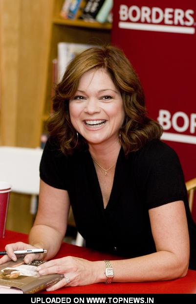 "Valarie Bertinelli  at Valerie Bertinelli Signs Copies of ""Losing It - And Gaining My Life Back One Pound at a Time"" - May 31, 2"