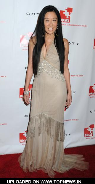 Vera Wang  at  3rd Annual DKMS Gala - Arrivals