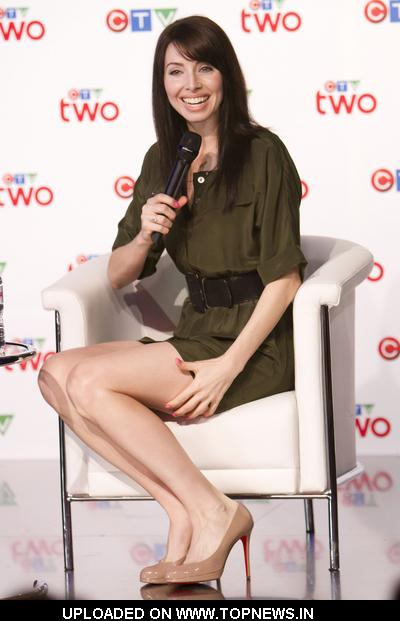 Whitney Cummings at CTV Upfront Presentation Press Conference in Toronto