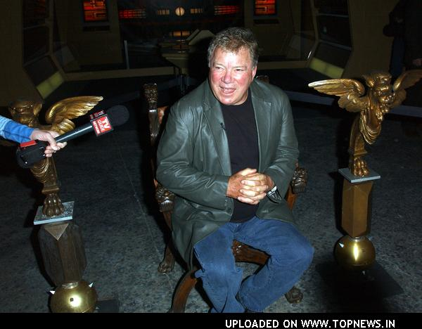 "William Shatner at ""Star Trek: The Tour"" Press Conference and Preview with William Shatner"
