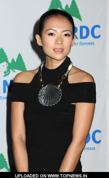 "Zhang Ziyi at Natural Resources Defense Council 11th Annual ""Forces For Nature"" Benefit - Arrivals"